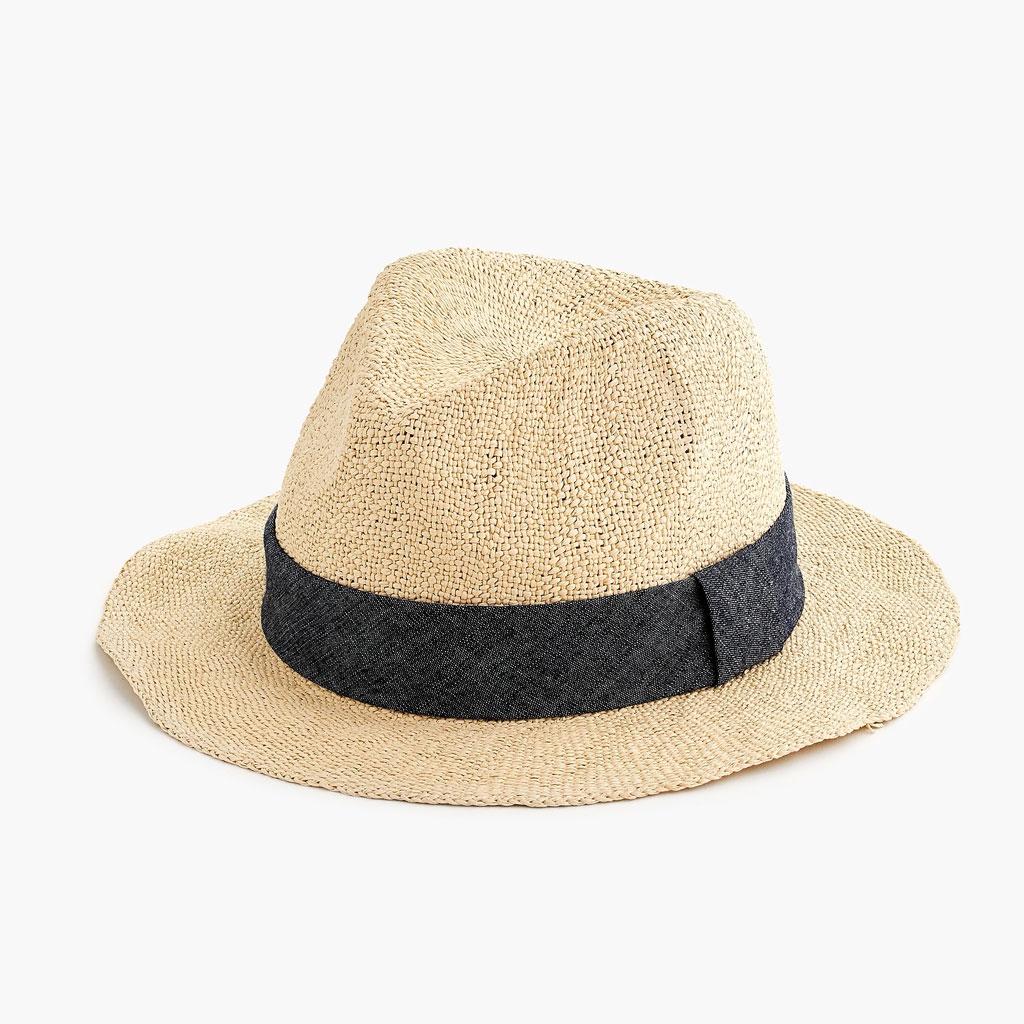 J.Crew Packable Panama Hat corny jokes