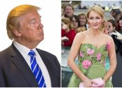 jk rowling burns trump with tweet about his handwriting.