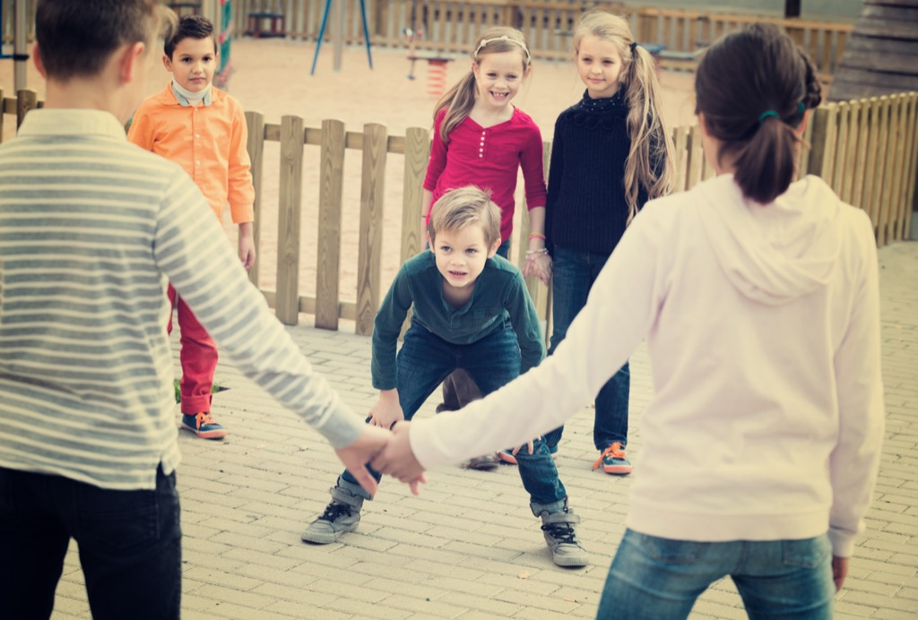 kids playing tag, top slang words in every state