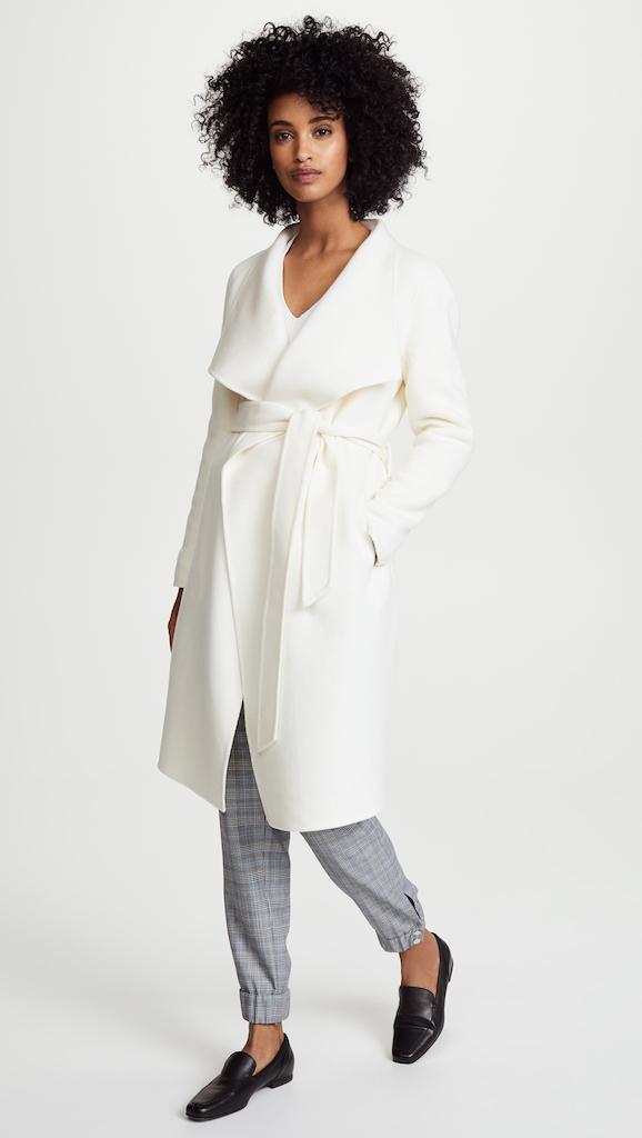 meghan markle line the label coat Meghan Markle's Favorite Fashion Brands