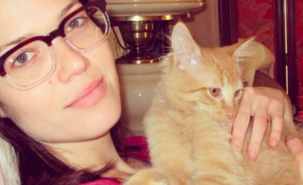 Mandy Moore cat