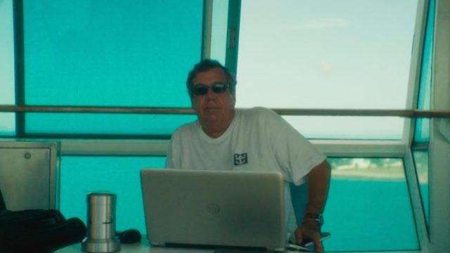 65-year-old Mario Salcedo has spent the last twenty years living on a cruise ship.