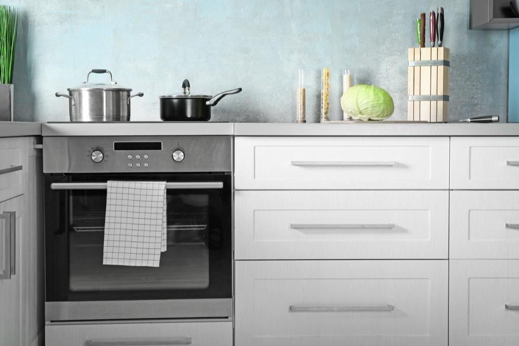 oven modern kitchen