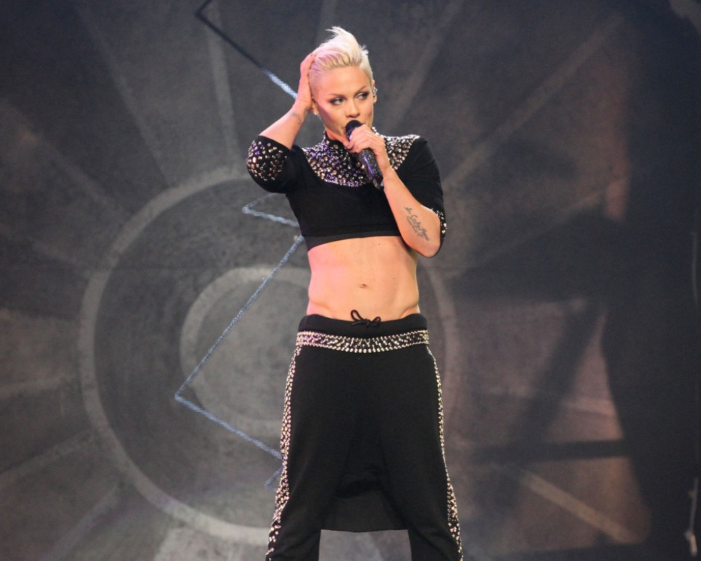 singer pink funniest pregnancy quotes