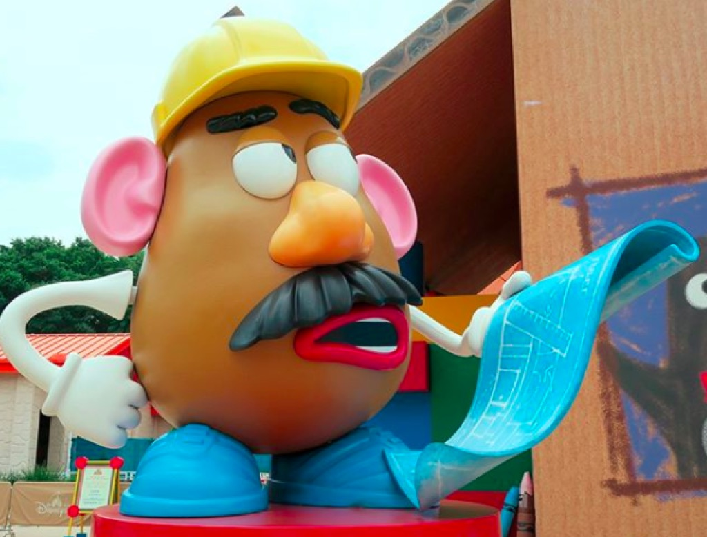 Mr. Potato Head from Toy Story