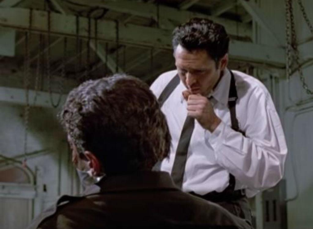 Reservoir Dogs improvised movie lines