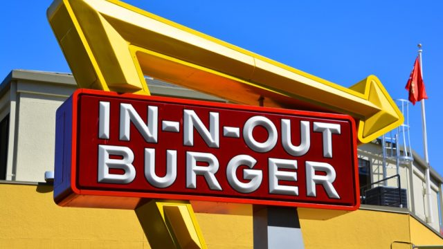 In-n-Out Burger local favorites