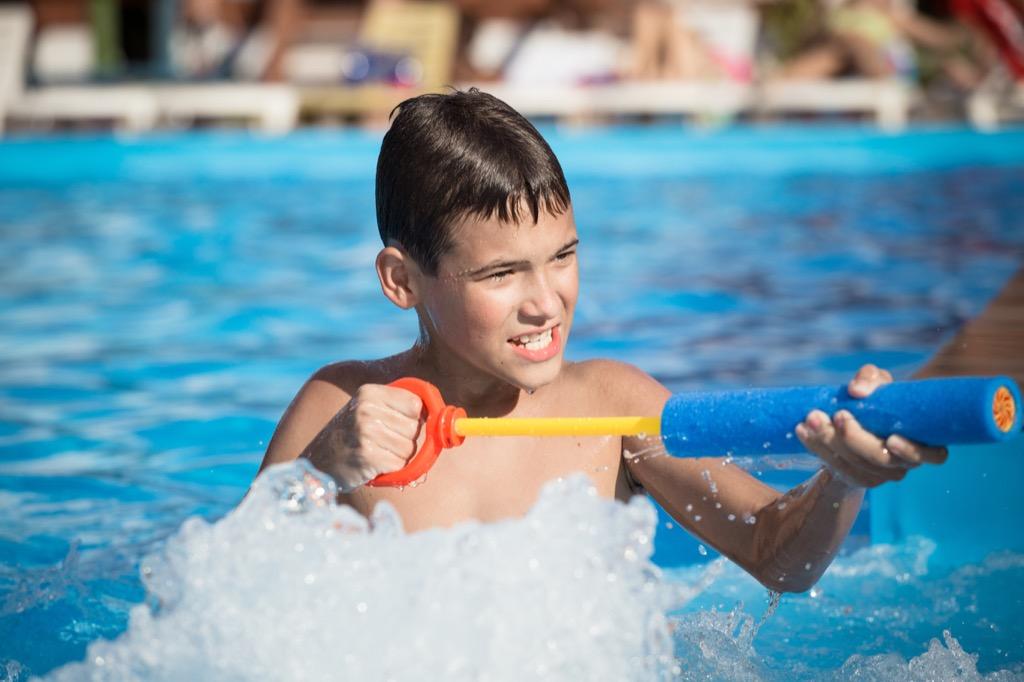 water gun American Summer Traditions