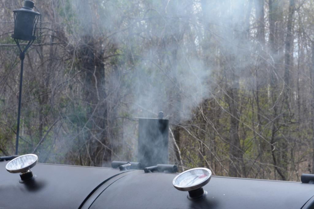 smoker outside local favorites