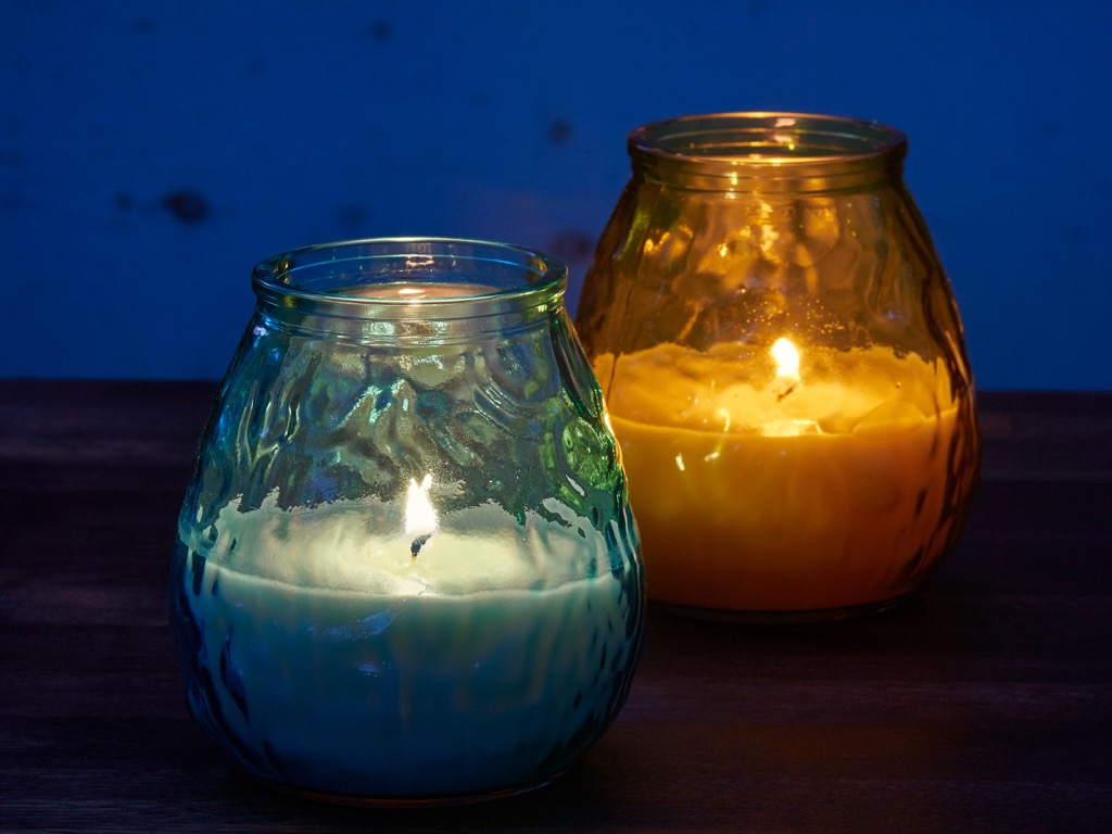 candles outdoor citronella candle backyard