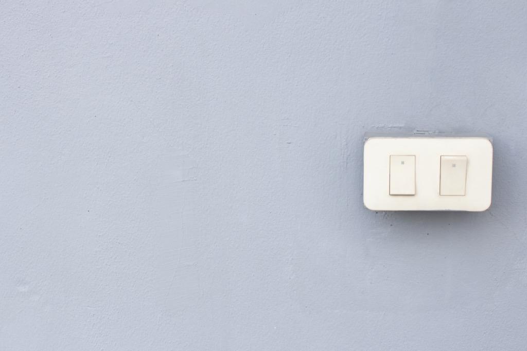 light switch Craziest U.S. Presidents