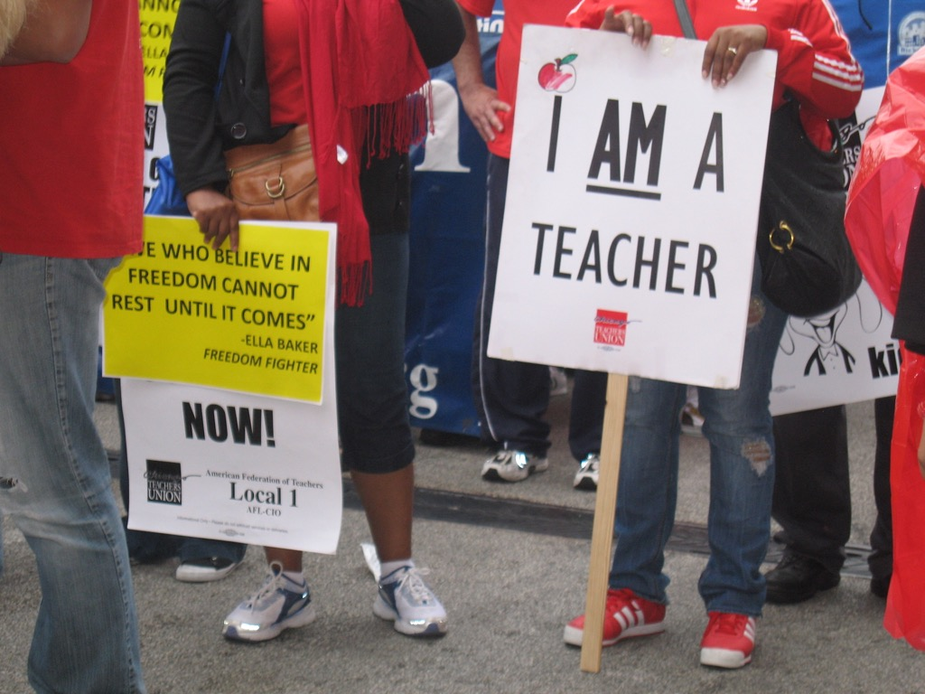 protesting Never Say to a Teacher how to make friends after 50