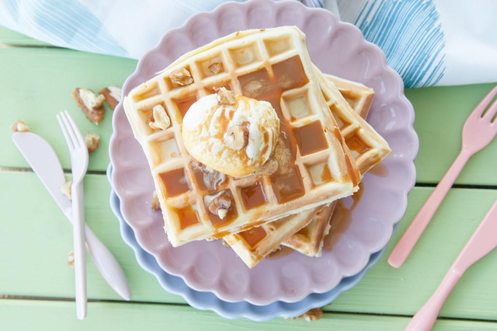 waffles and ice cream Craziest U.S. Presidents