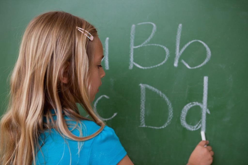 blackboard Never Say to a Teacher