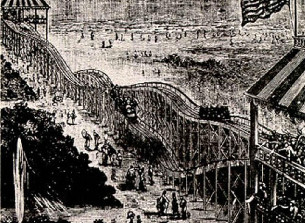 Switchback Railway roller coaster