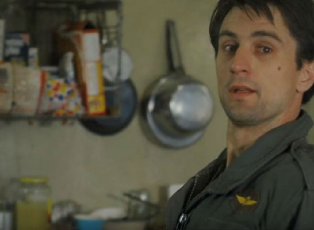 Taxi Driver improvised movie lines