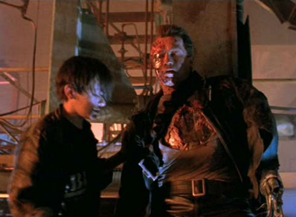 Terminator 2 improvised movie lines