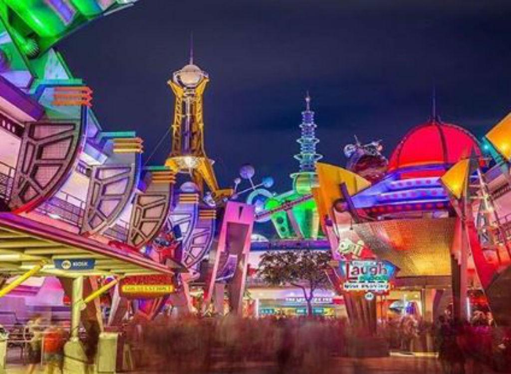 Tomorrowland amusement park