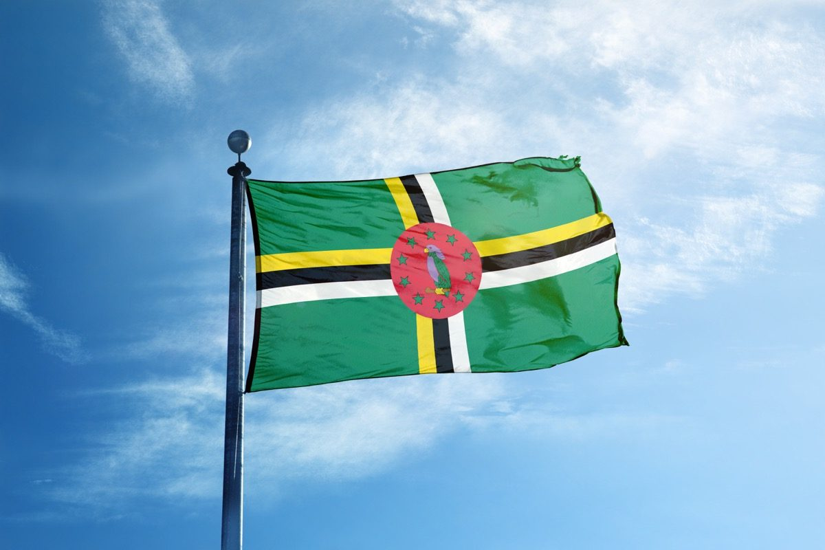 dominca flag, astonishing facts