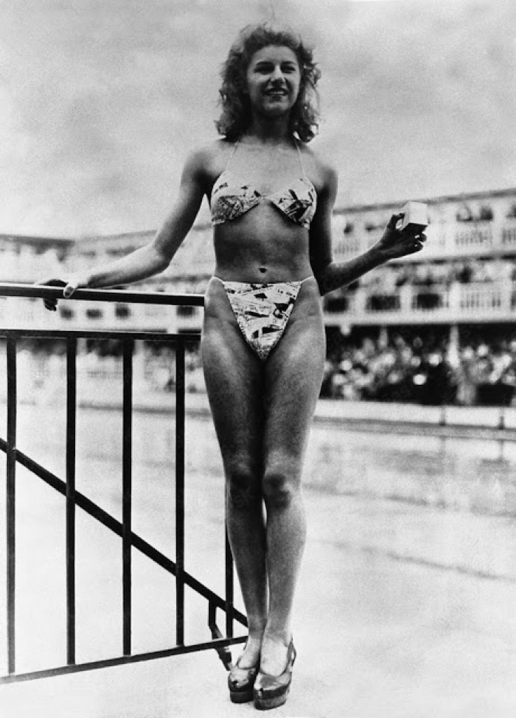 Micheline Bernardini, first bikini model