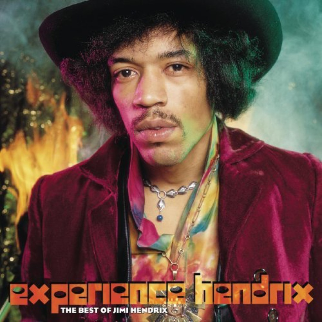 """""""All Along The Watchtower"""" by Jimi Hendrix album cover"""