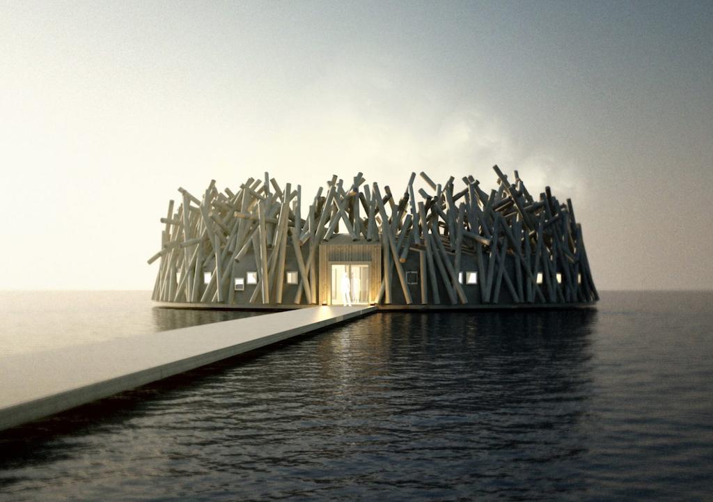 The Arctic Bath Resort Floating Hotels
