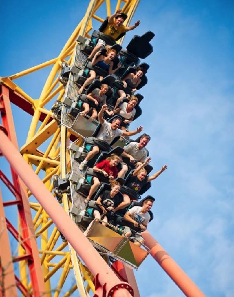 arkansas craziest amusement park rides