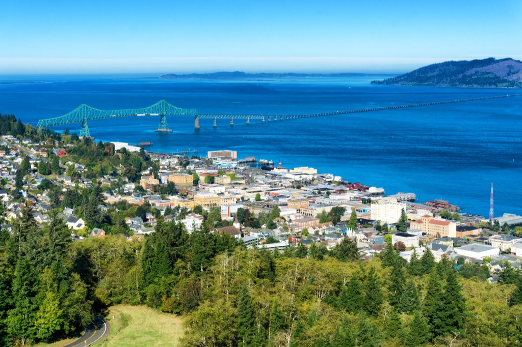 astoria oregon humid places most humid cities in the U.S.