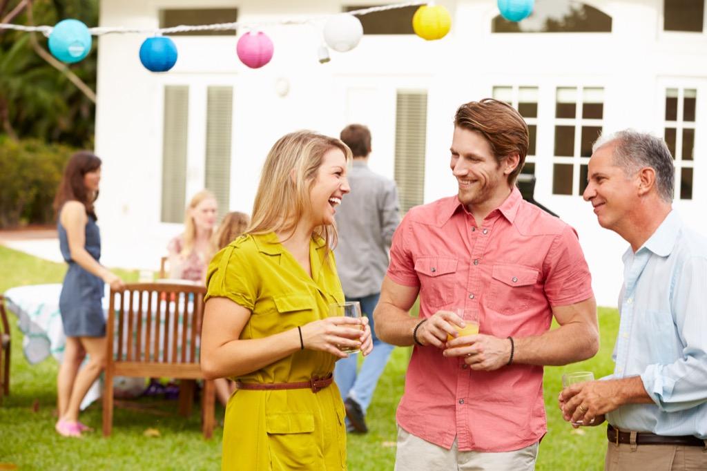 backyard party summer