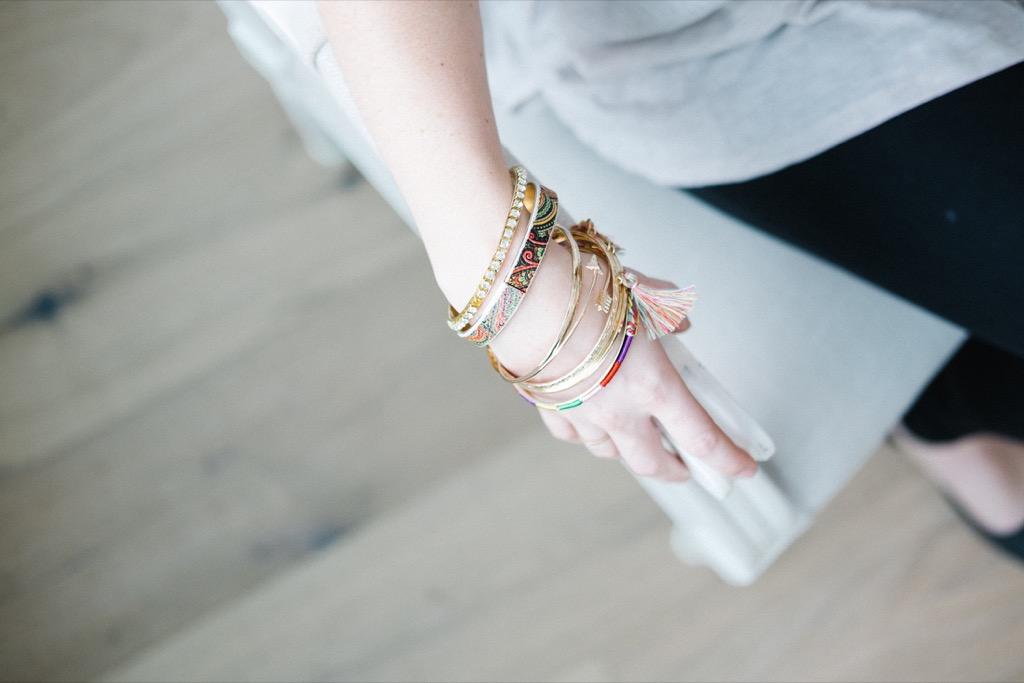 Bangles bracelets accessories