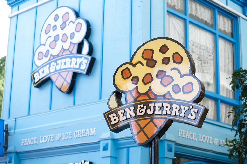 Ben & Jerry's Ice Cream pet-friendly companies