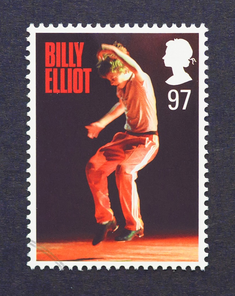 billy elliot stamp, facts about the lottery