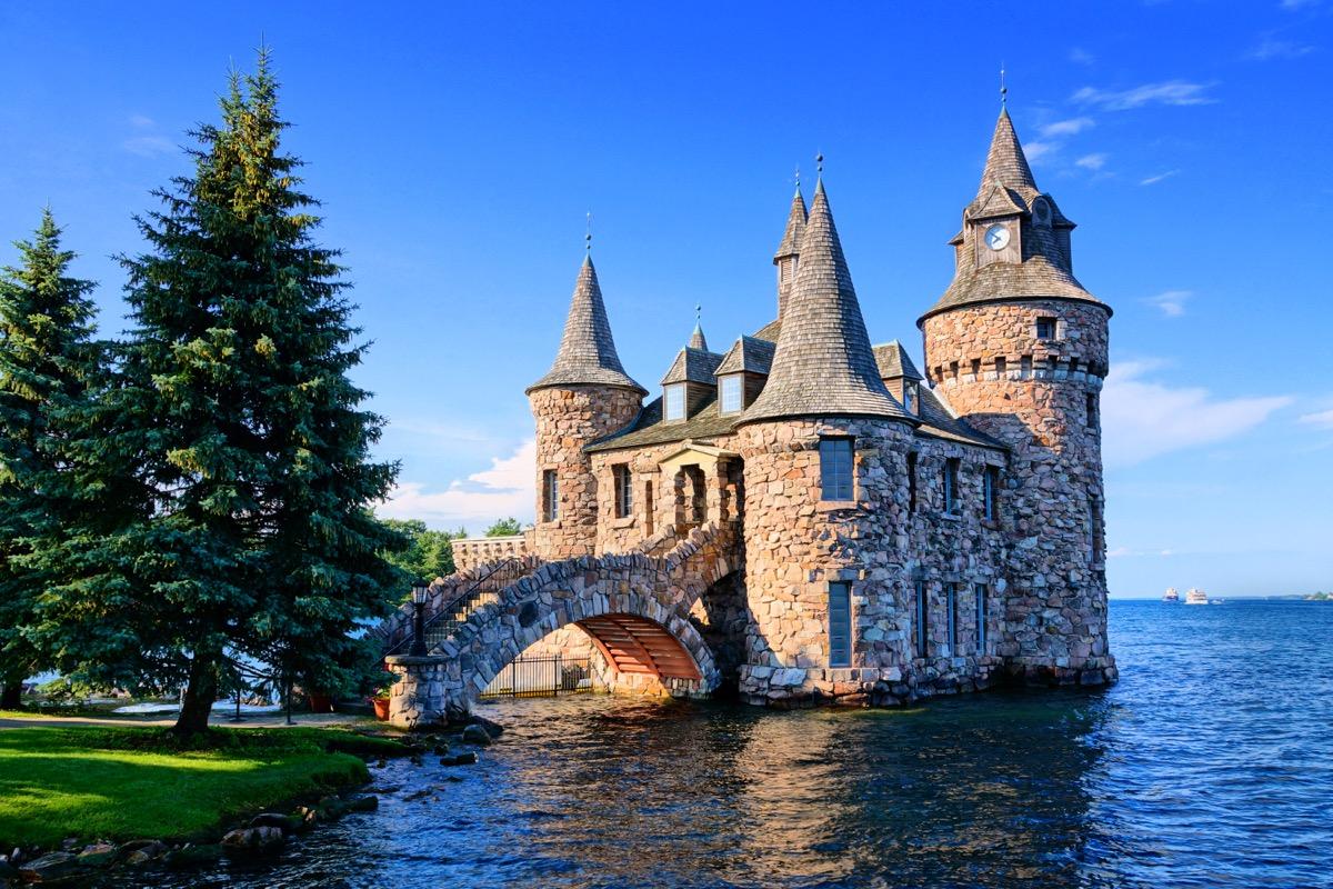 boldt castle in upstate New York
