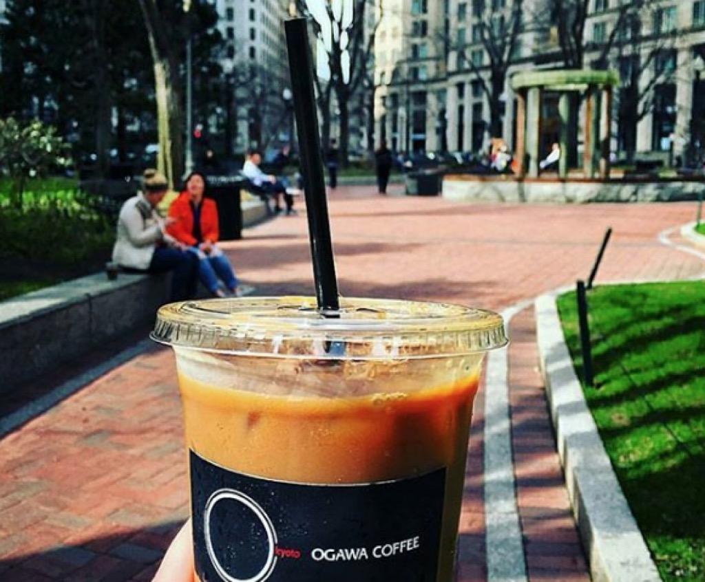 boston ma most caffeinated cities