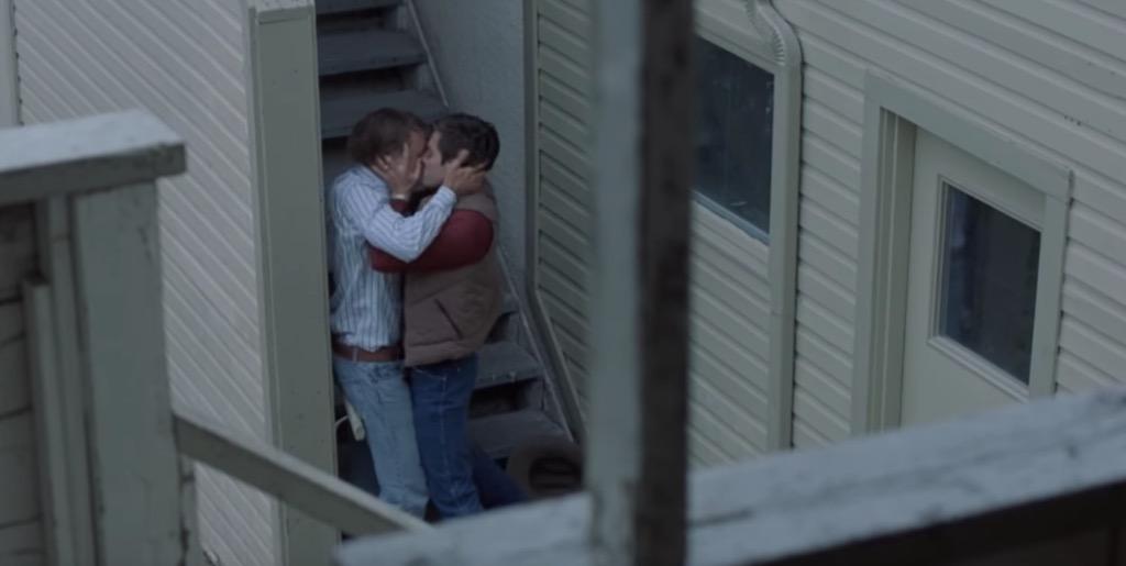 brokeback kiss