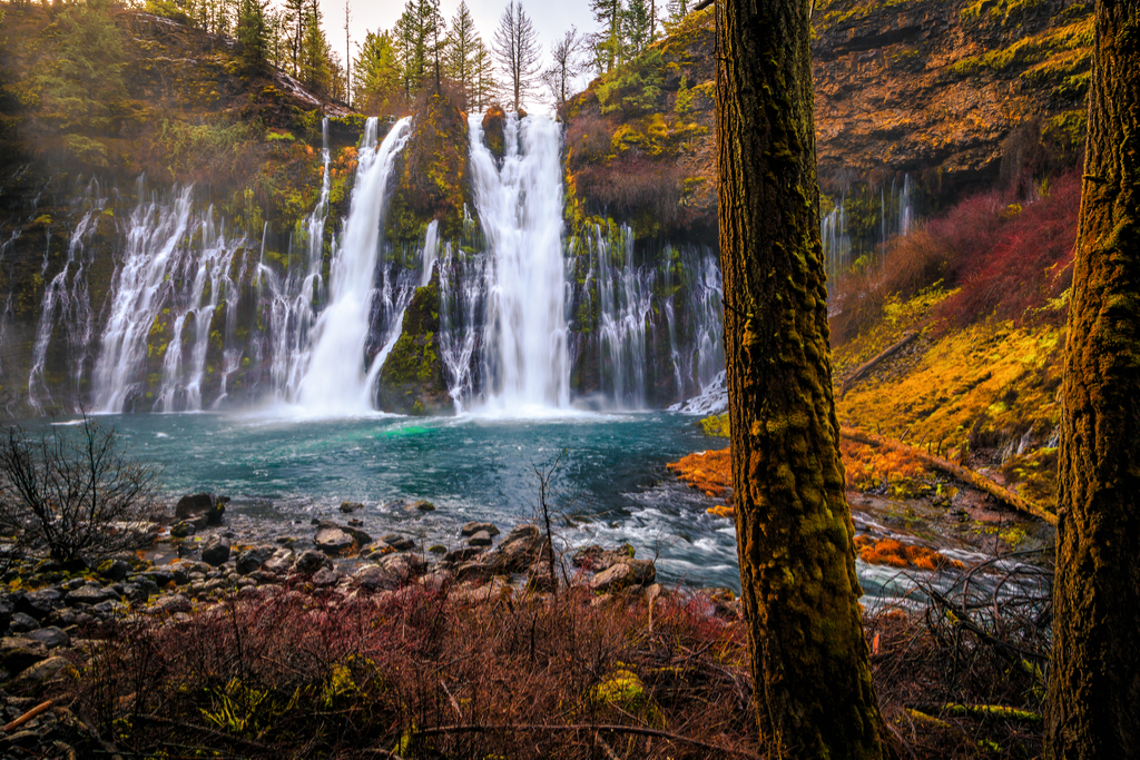 Burney Falls California Waterfalls
