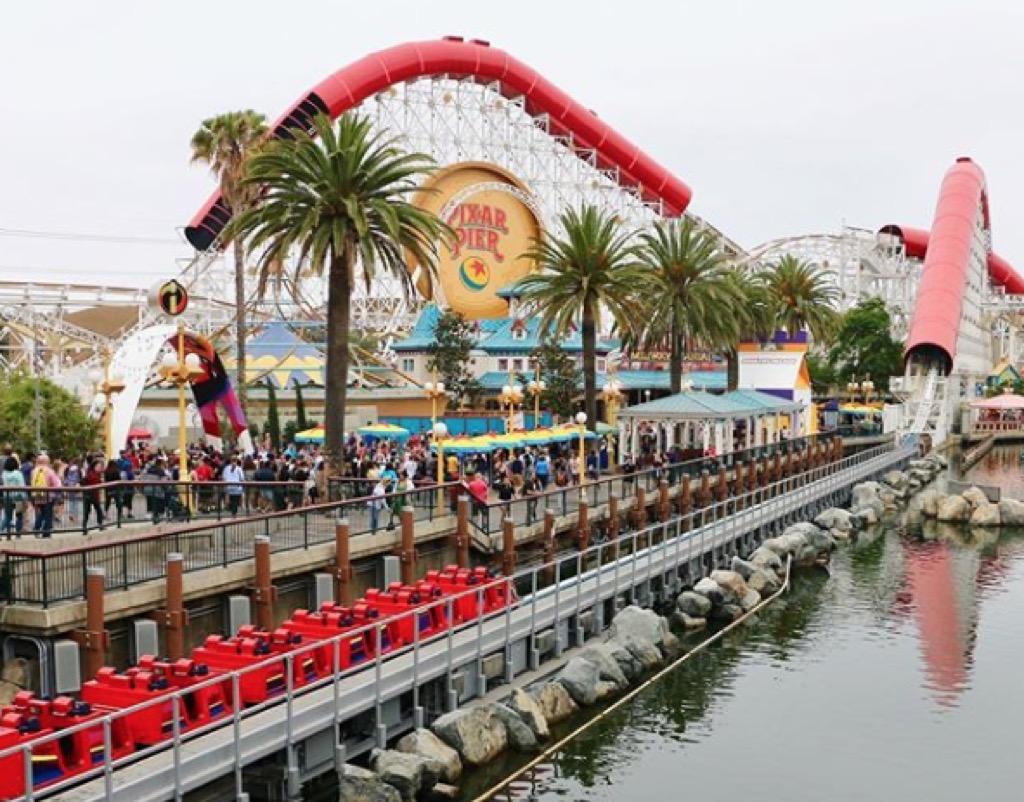 california craziest amusement park rides