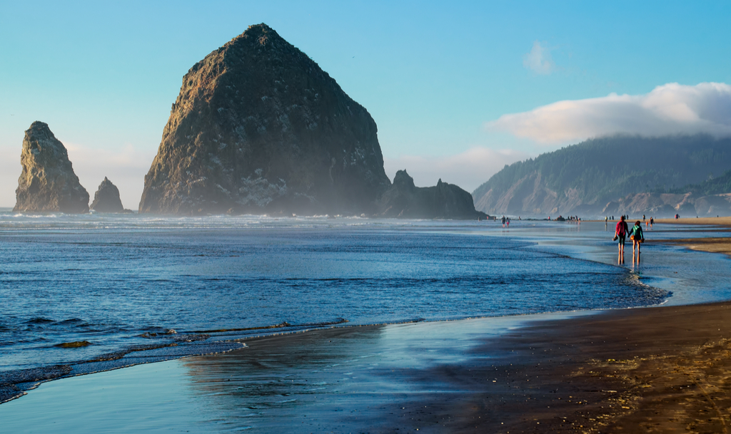 Cannon Beach Oregon state natural wonders