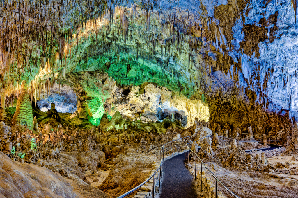 Carlsbad Caverns New Mexico magical caves in the united states