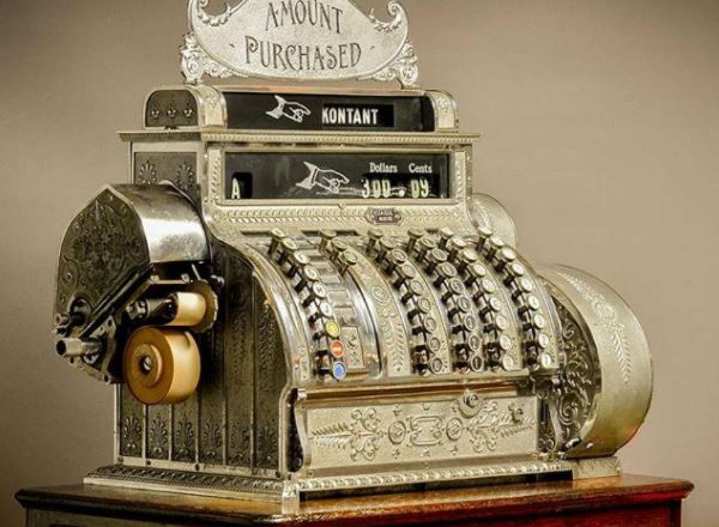 cash register obsolete