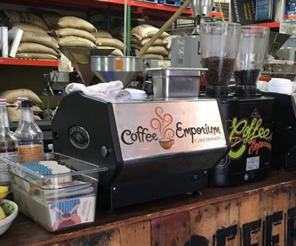 cincinnati oh most caffeinated cities
