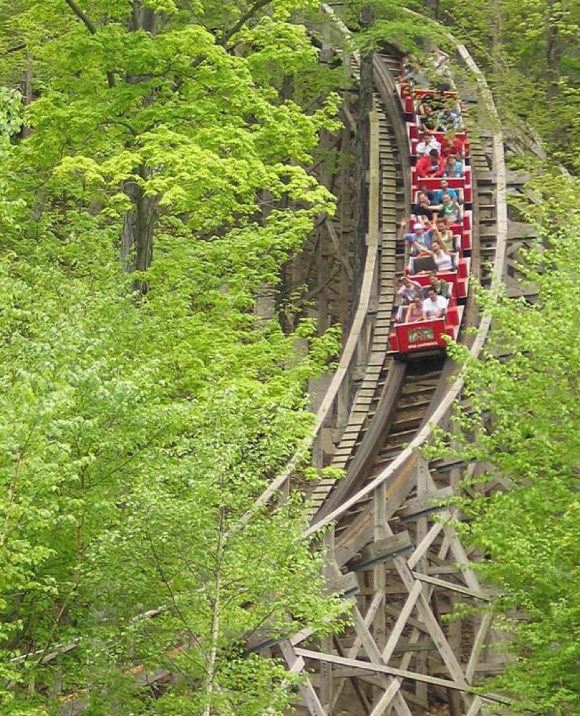 connecticut craziest amusement park rides