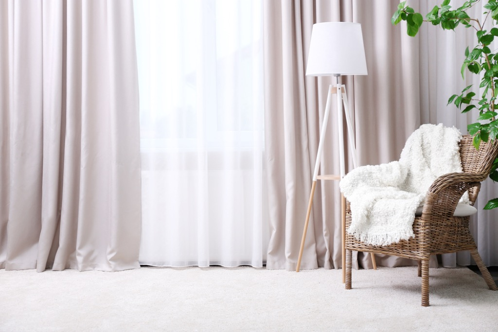 light drapes 20 Amazing Ways to Brighten Your Home