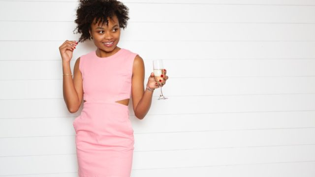 Woman in a pink cutout dress, things you shouldn't say about someone's body