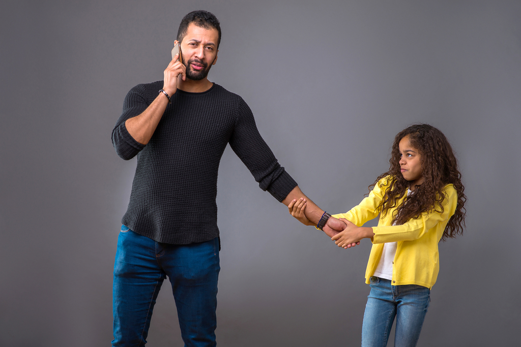 Dad Too Busy For Daughter