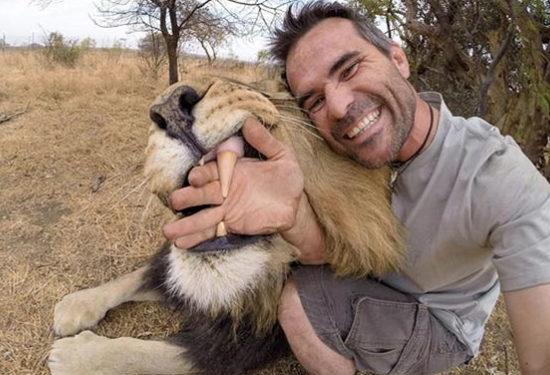 Dangerous Lion Selfies