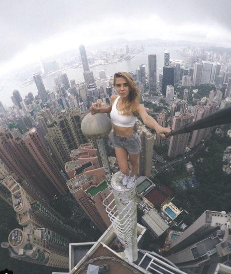 Dangerous Tower Selfies