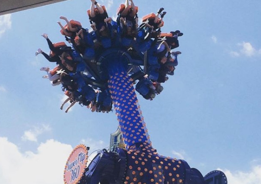 delaware craziest amusement park rides