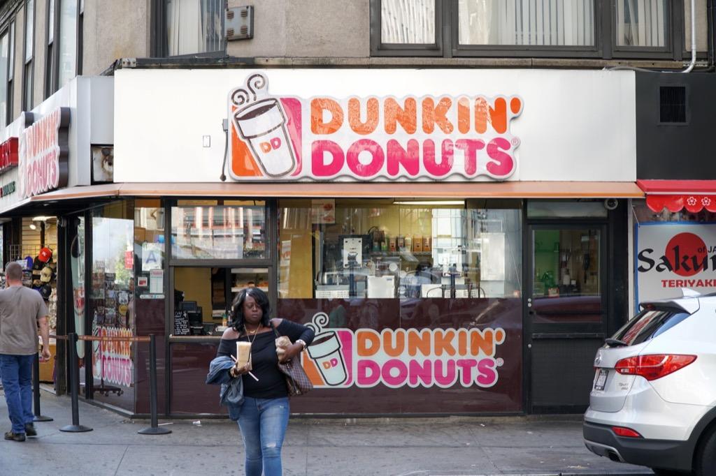 dunkin donuts store in manhattan