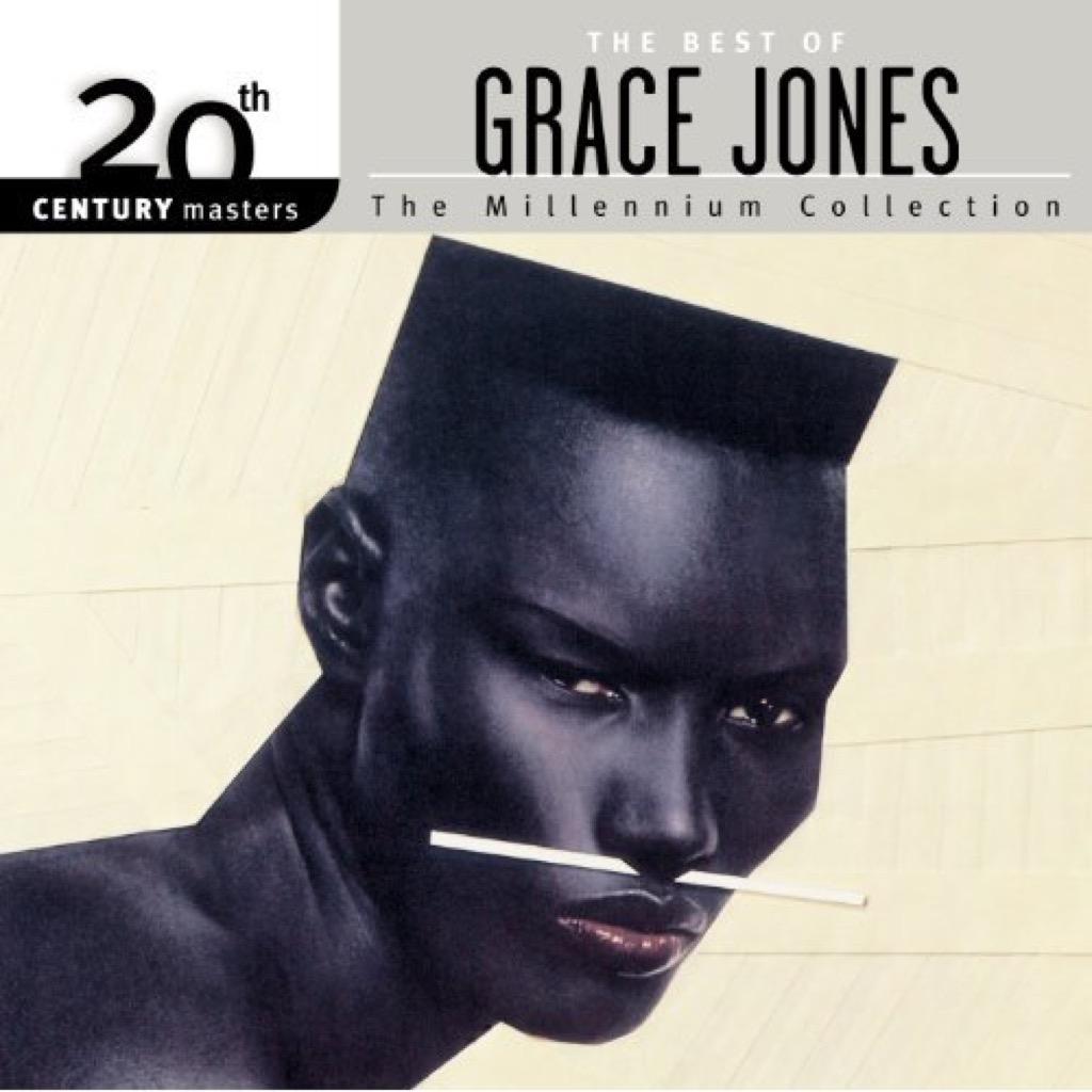 """The Best of Grace Jones"" Cover"